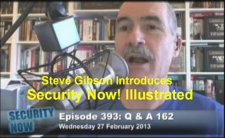 Steve Gibsion introduces Security Now Illustrated
